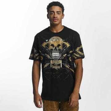 Southpole t-shirt Skull zwart