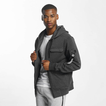 Southpole Zip Hoodie Utility gray