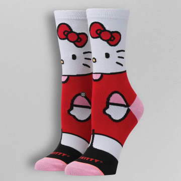 Stance Chaussettes Hello Kitty blanc