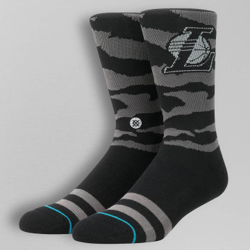 Stance Chaussettes Nightfall Lakers noir