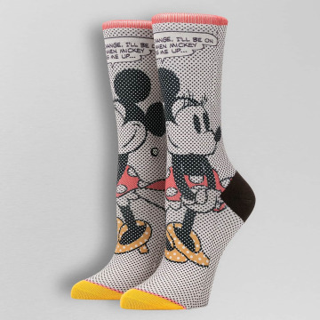 Stance Socken Tick Tock Minnie weiß