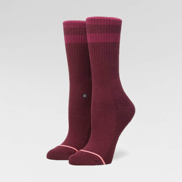 Stance Socks Uncommon Classic Crew red