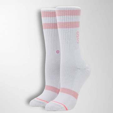 Stance Socks Stay Sick white