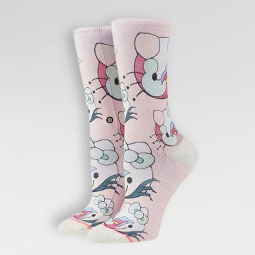 Stance Sokker Blossoms rosa