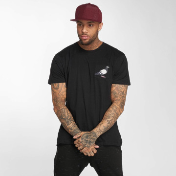 Staple Pigeon T-Shirt Pocket schwarz