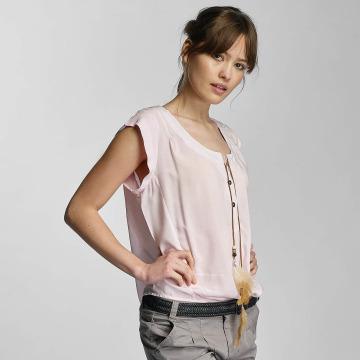 Stitch & Soul Camicia/Blusa Lia rosa chiaro