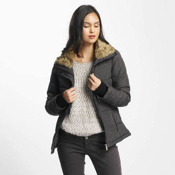 Stitch & Soul Giacca invernale Stand Up Collar nero
