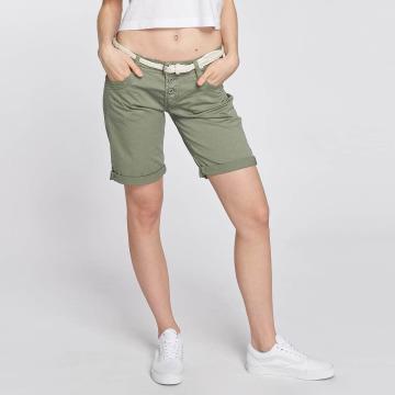 Stitch & Soul shorts Bermuda groen