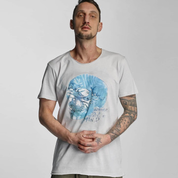 Stitch & Soul t-shirt Summer grijs