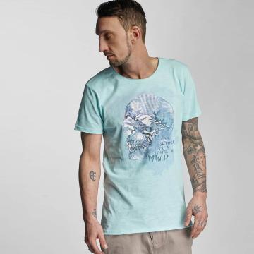 Stitch & Soul T-Shirt Summer turquoise