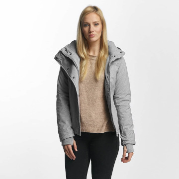 Sublevel Зимняя куртка Jacket Pencil серый