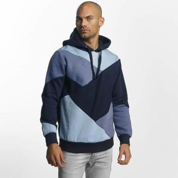 Sublevel Hoodie Colour Block blå