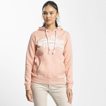 Sublevel Hoodie Love Peace Happiness ros