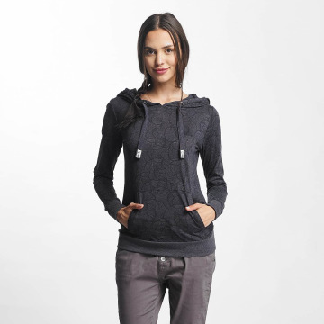 Sublevel Hoody Leaves blauw