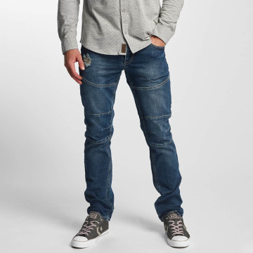Sublevel Jean coupe droite Sublevel Straight fit bleu