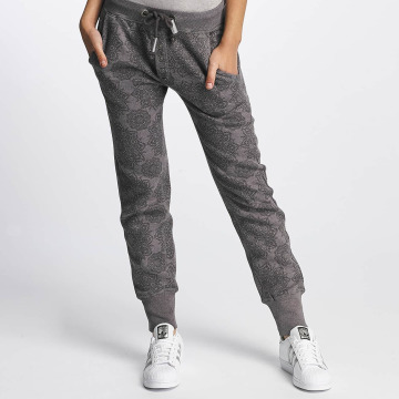 Sublevel joggingbroek Allover Print grijs