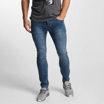 Sublevel Skinny Jeans Zip Fly blau