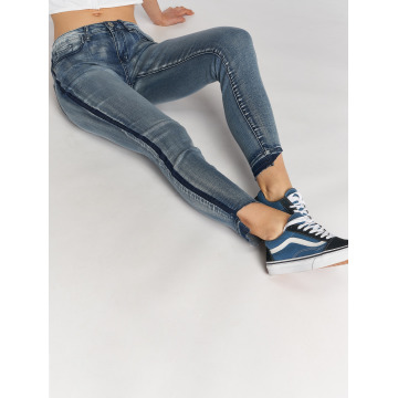 Sublevel Skinny jeans Destroyed blauw