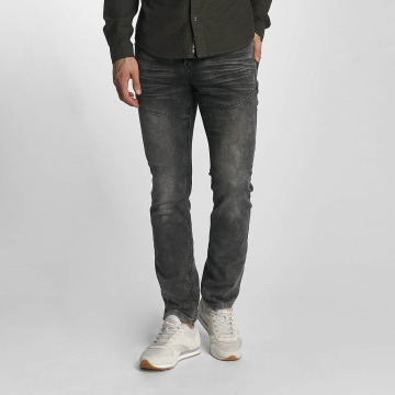 Sublevel Slim Fit Jeans Slim Jogger Jeans grijs