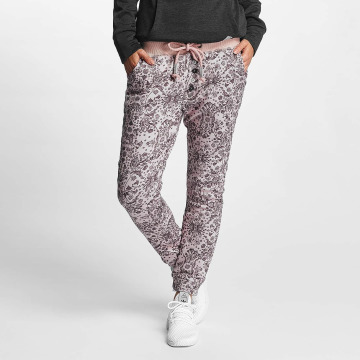 Sublevel Sweat Pant Allover Printed rose