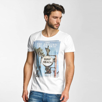 Sublevel T-Shirt Surf Beach blanc