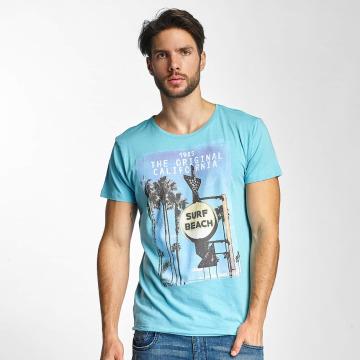 Sublevel T-Shirt Surf Beach blau