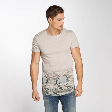Sublevel T-shirt Deep Camo grå