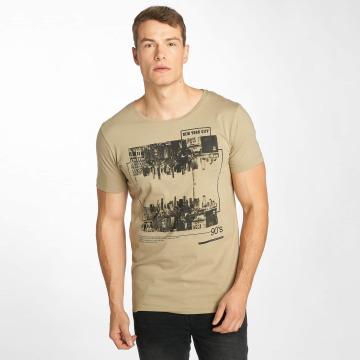 Sublevel t-shirt 90's olijfgroen
