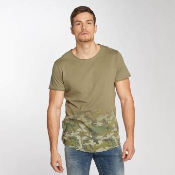 Sublevel T-shirt Deep Camo oliv