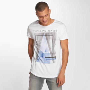 Sublevel t-shirt Beachlife wit