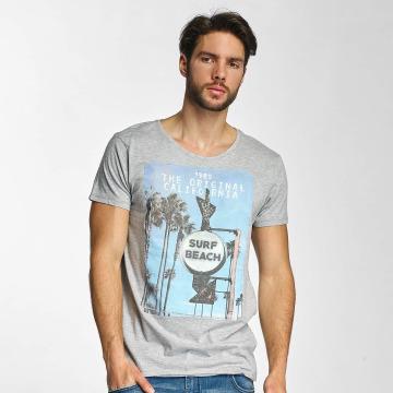 Sublevel T-skjorter Surf Beach grå
