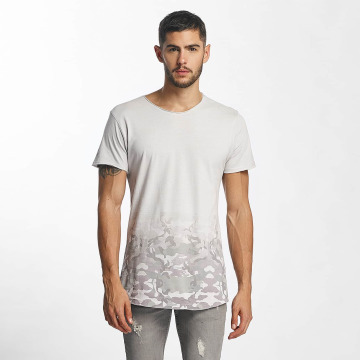 Sublevel T-skjorter Camouflage Print grå