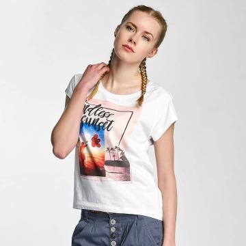 Sublevel T-skjorter Endless Sunset hvit