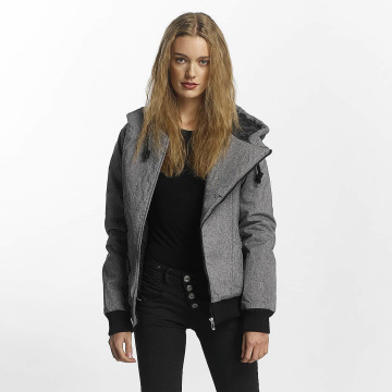 Sublevel Winterjacke Asymmetric grau