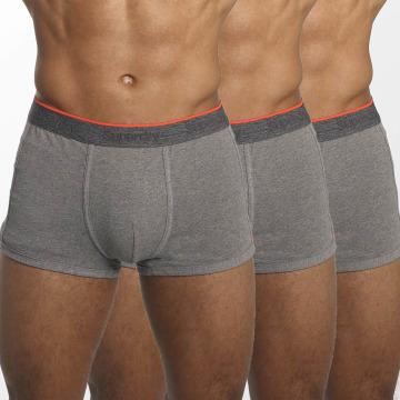 Superdry  Shorts boxeros Orange Label Triple Pack gris