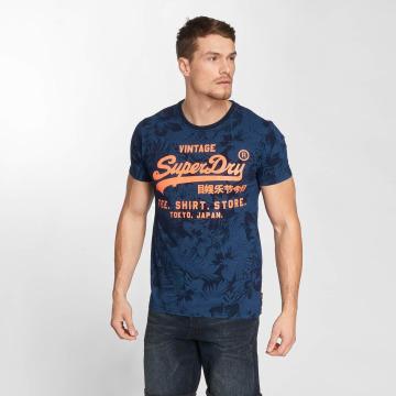 Superdry Camiseta Shop azul