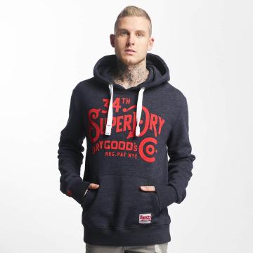 Superdry Felpa con cappuccio NYC Goods CO blu