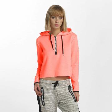 Superdry Hoody Sport Gym Technical Luxe Crop orange