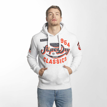Superdry Hoody Famous Flyers weiß