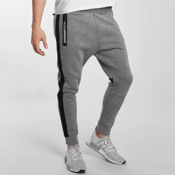 Superdry joggingbroek Sport Gym Technical grijs