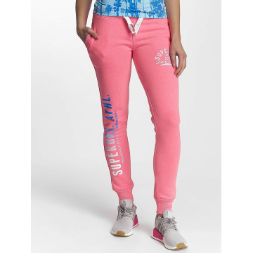 Superdry joggingbroek Track And Field pink