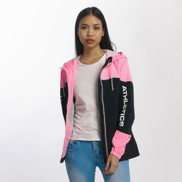 Superdry Kurtki przejściowe Colour Block Cagoule pink