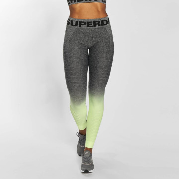 Superdry Legging Seamless geel