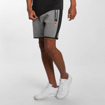 Superdry Pantalón cortos Sport Gym Technical Stripe Slim gris