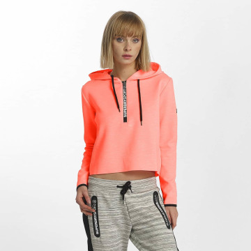 Superdry Sweat capuche Sport Gym Technical Luxe Crop orange