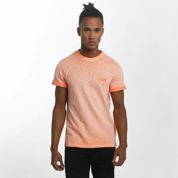 Superdry T-shirt Orange Labl Low Roller apelsin