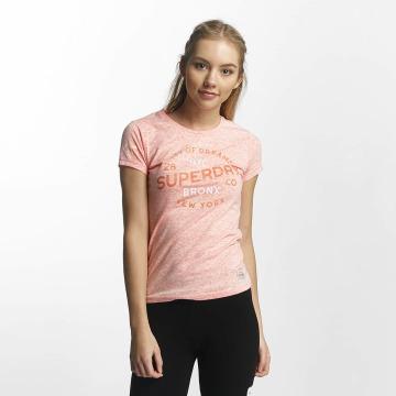 Superdry T-shirt Maritime arancio