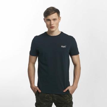 Superdry T-shirt Orange Label Vintage Embroidered blu