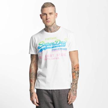 Superdry t-shirt Vintage Logo Hyper Fade wit