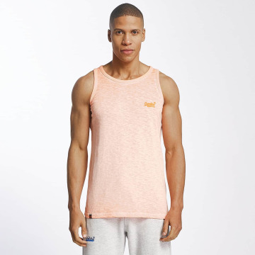 Superdry Tank Tops Low Roller pomaranczowy